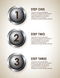 Infographics steps Stock Photo
