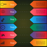 Infographics style options banner Stock Photo