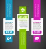 Infographics szablon zdjęcia royalty free