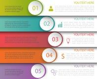 Infographics szablon Obraz Stock