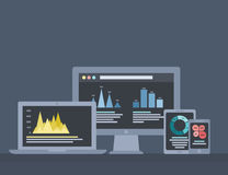 Infographics technique Stock Photos