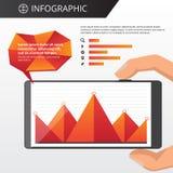 Infographics template Stock Image