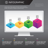 Infographics template Royalty Free Stock Image