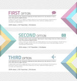 Infographics template Royalty Free Stock Photos