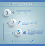 Infographics template royalty free illustration