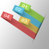 Infographics Template Royalty Free Stock Photography