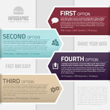 Infographics template Stock Images