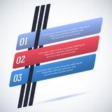 Infographics-template-pointer-flat-style-retro royalty free illustration