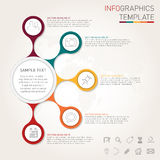 Infographics template for your design Stock Images