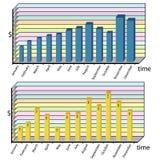 Infographics tools set Stock Image