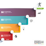 Infographics vector design template Stock Photography