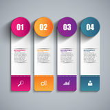 Infographics vector design template. EPS10 Stock Image