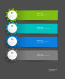 Infographics vector design template Stock Photos