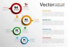 Infographics vector design template. Vector illustration can be used for  workflow layout, diagram, number options, web design. Eps 10 Vector Illustration