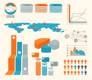 Infographics vector Royalty Free Stock Photography