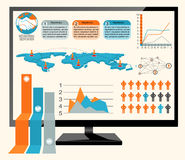 Infographics vector Stock Photos