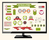 Infographics vector Royalty Free Stock Photo