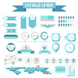 Infographics vector Stock Images