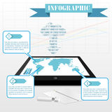 Infographics vector Stock Photography
