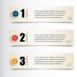 Infographics Vector illustration. Set of three banners for infographic royalty free illustration