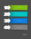 Infographics-Vektordesign Stockbild