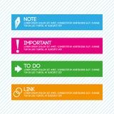 Infographics voor de Doeleinden van de Presentatie Royalty-vrije Stock Afbeeldingen