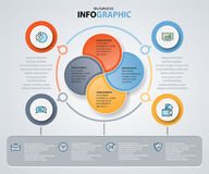 Infographics web design marketing icons for Business Stock Photo