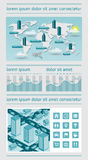 Infographics and web elements Royalty Free Stock Image
