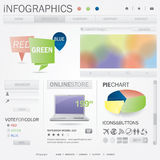 Infographics web template Royalty Free Stock Photography