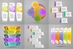 Infographics wektorowy set Fotografia Stock