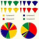 Infographics-Werkzeugsatz Stockbilder
