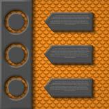 Infographicselementen. Ontwerpmalplaatje. Grafisch of Stock Afbeeldingen