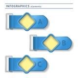 Infographicselementen. Ontwerpmalplaatje. Grafisch of Royalty-vrije Stock Afbeelding