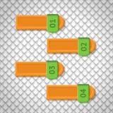 Infographicselementen. Ontwerpmalplaatje. Grafisch of Stock Foto's