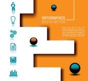 Infographicsillustratie Royalty-vrije Stock Afbeeldingen