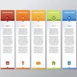 Infographicstok Stock Afbeelding
