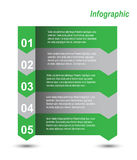 Infographie Photo stock