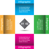 Infographie Image stock