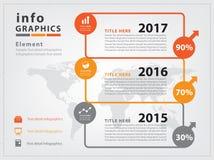 Infographie Photos stock