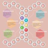 Infographie illustration stock
