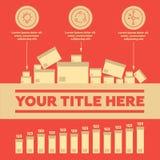 Infographie Image libre de droits