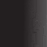 Infographie Fond futuriste de vecteur Photos stock