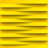 Infographie Le fond, papier peint pour le web design du papier réaliste barre l'ombrage Lignes légères Couleur jaune en associati Images libres de droits