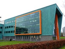 InfoLab21, School van Gegevensverwerking en Mededelingen, de Universiteit van Lancaster, Zuidenaandrijving, Bailrigg, Lancaster royalty-vrije stock foto
