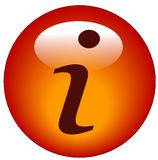 Infomation button or icon Stock Photography