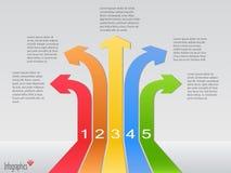 Inforgraphics, Vector Illustration Royalty Free Stock Photo