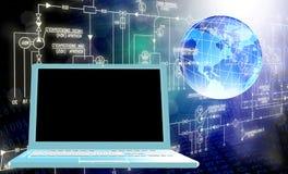 Informática da engenharia Foto de Stock