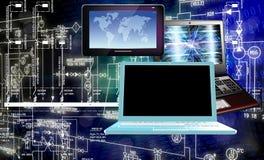Informática da engenharia Imagens de Stock