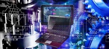 Informática industrial de pensamento Fotos de Stock