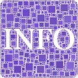 Informação! Imagens de Stock